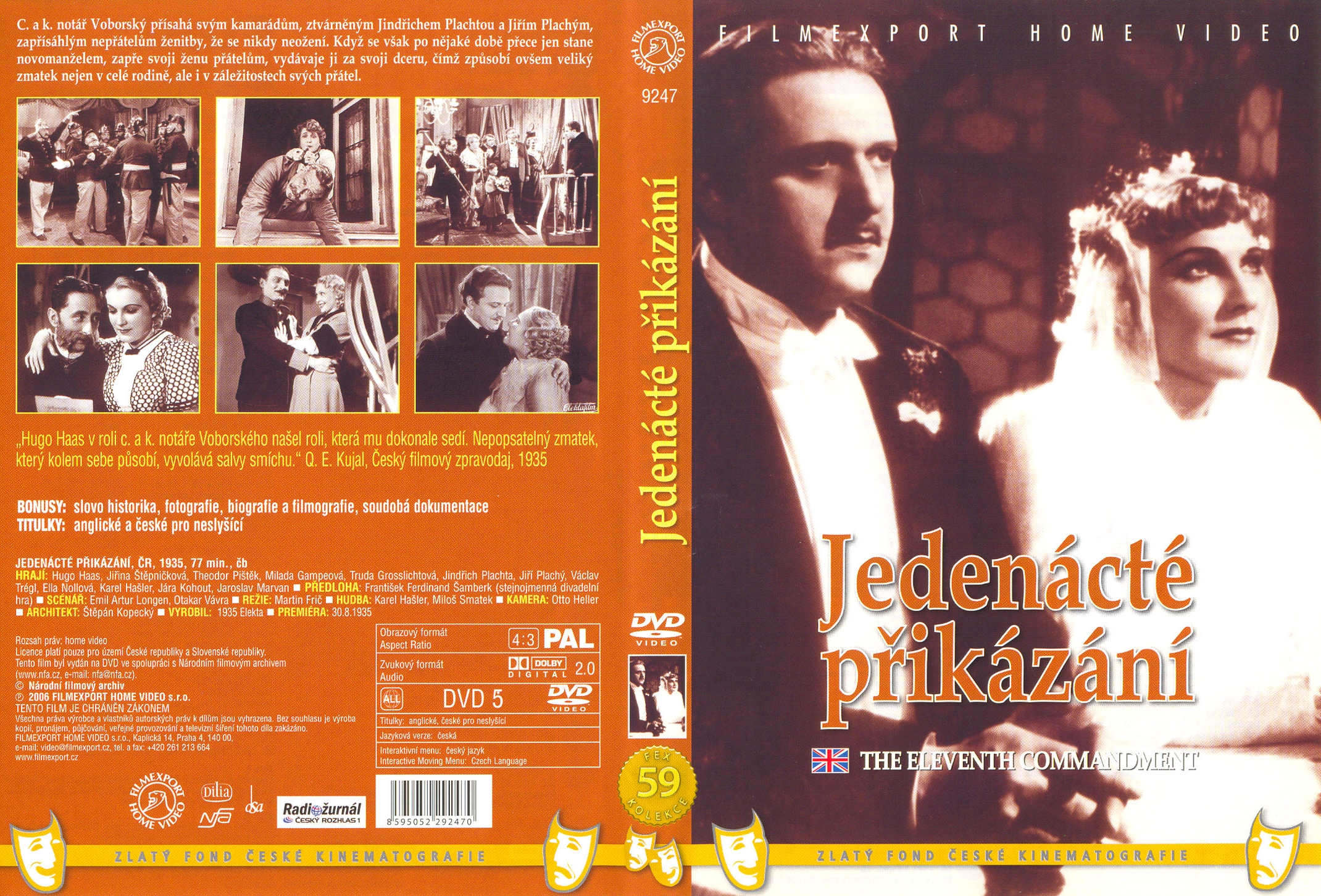 DVD Jednácté přikázání